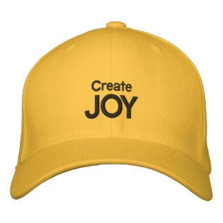 JOY EMBROIDERED BASEBALL CAP