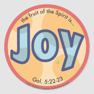 Joy Fruit of the Spirit Spots Sticker