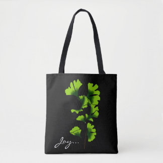 Joy Ginkgo Tote Bag