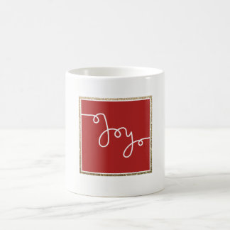 Joy Hand Lettered | Christmas Holiday Mug Gift