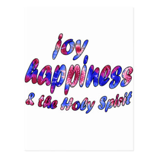 Joy Happiness the Holy Spirit Postcards