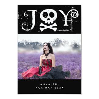 Joy Holiday Gothic Photo Card