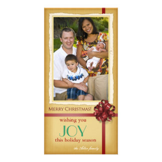 Joy - Holiday photocards Photo Card Template