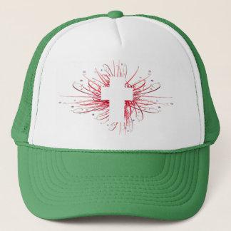 JOY! in the Cross Trucker Hat