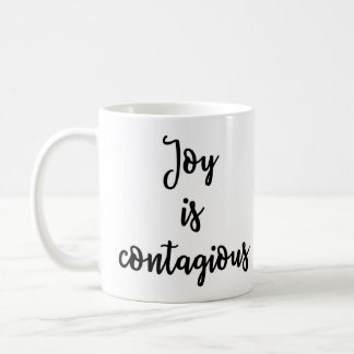 Joy is contagious Mug