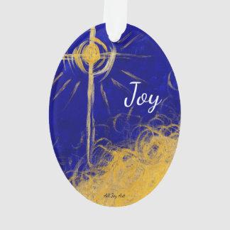 """Joy """"Joyous Star"""" Ornament by All Joy Art"""
