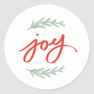 Joy Laurel | Holiday sticker