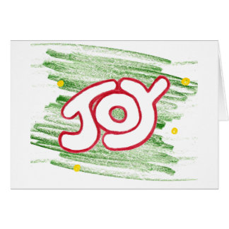 Joy Notecard Note Card
