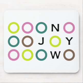 Joy Now Collection Mouse Mat