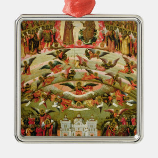 Joy of all who Sorrow Virgin, 1707 Christmas Ornament