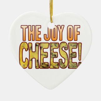 Joy Of Blue Cheese Ceramic Heart Decoration