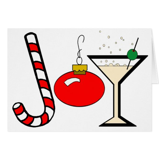 Joy Of Christmas Card
