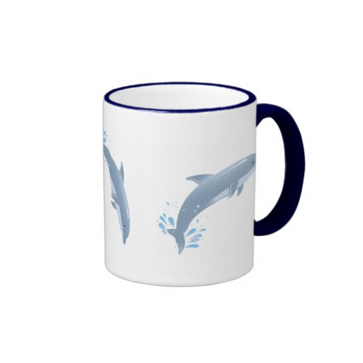 joy of dolphins coffee mugs