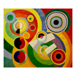 Joy of Life - Abstract Classic by Robert Delaunay Poster