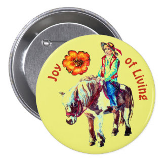 Joy of Living Rider on a Pony badge
