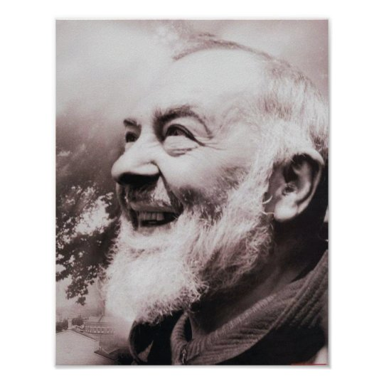JOY OF ST PIO POSTER