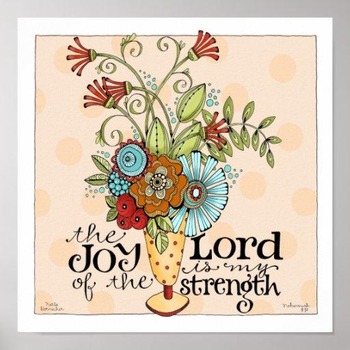Joy of the Lord - 12 x 12 Art Print