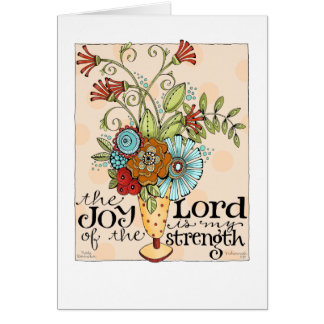 Joy of the Lord - Greeting Card