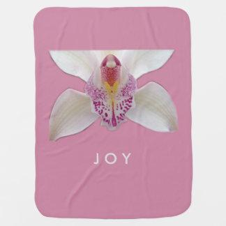 JOY Orchid Baby Blanket