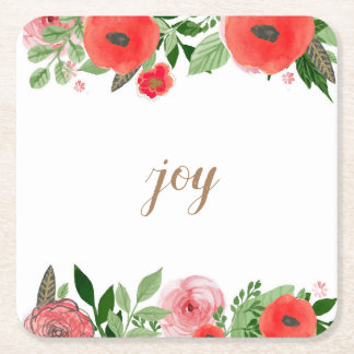 Joy Paper Coasters