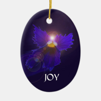 Joy & Peace Angel Ornament