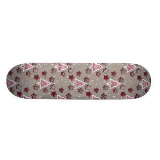Joy, Peace, Love! 18.1 Cm Old School Skateboard Deck
