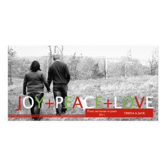 Joy.Peace.Love: Holiday Photo Card