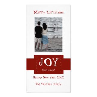 Joy Photo Card Template