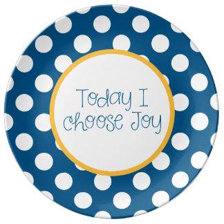 """""""Joy"""" Porcelain Plate"""