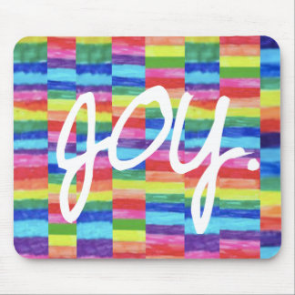 Joy Rainbow Mouse Pad
