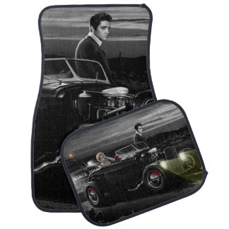 Joy Ride B&W 2 Car Mat