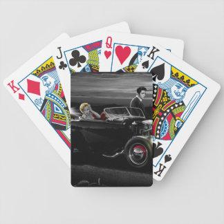 Joy Ride B&W Bicycle Playing Cards
