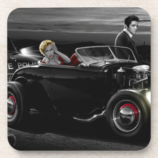 Joy Ride B&W Coaster