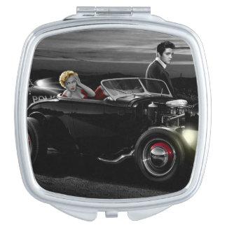 Joy Ride B&W Compact Mirrors