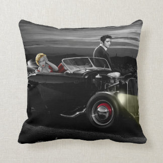 Joy Ride B&W Cushion