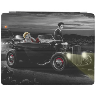 Joy Ride B&W iPad Cover