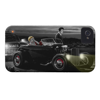 Joy Ride B&W iPhone 4 Case-Mate Case