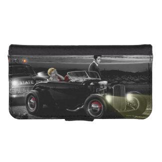 Joy Ride B&W iPhone SE/5/5s Wallet Case