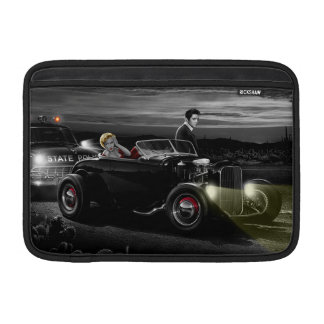 Joy Ride B&W MacBook Sleeve
