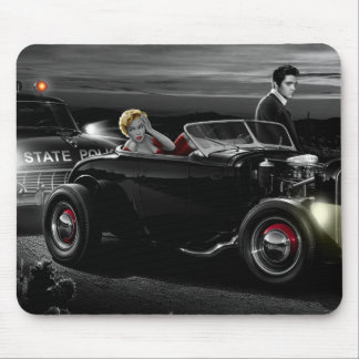 Joy Ride B&W Mouse Mat