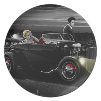 Joy Ride B&W Plate