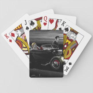 Joy Ride B&W Playing Cards