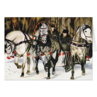 """Joy Ride"" Christmas Card"