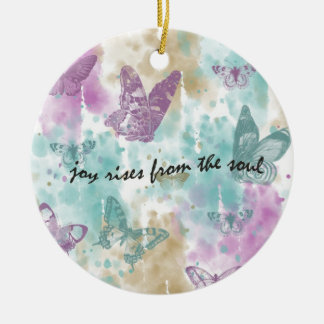 Joy Rises from the Soul Christmas Ornament