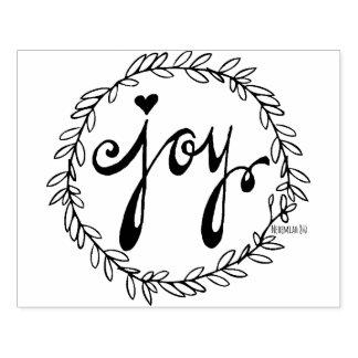 JOY | rubber stamp
