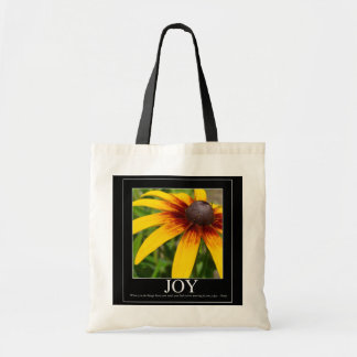 Joy Rumi Motivational Flower Bag