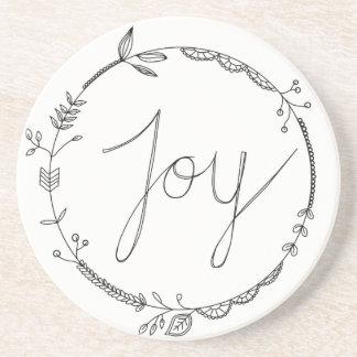 *Joy sandstone coaster* Coaster