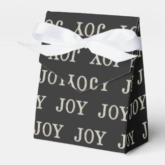 JOY (silver) Wedding Favour Box