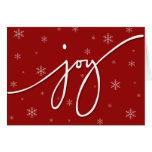 Joy Stationery Note Card
