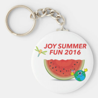 Joy Summer Keychain